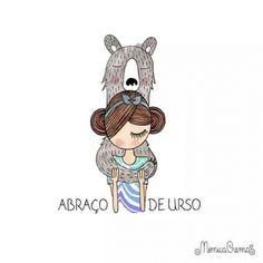Abraço de urso♥