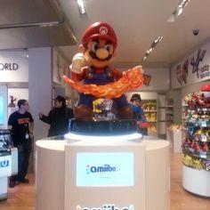 nintendo world amiibo - Google Search Nintendo Store, Nintendo World, Mario, Google Search, Desserts, Food, Tailgate Desserts, Deserts, Essen
