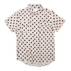 Polka Dot Shirt, Machus, Ours, Ours clothing, Portland men's store, Men's button up – machus