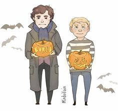 "mindvillain: "" Happy Halloween at 221B! x """