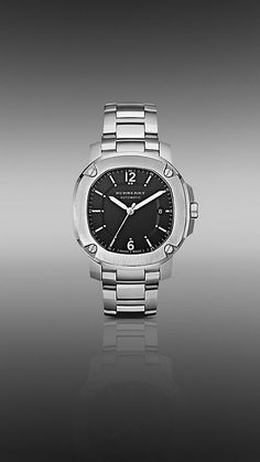 The Britain BBY1203 43mm Automatic watch from Burberry