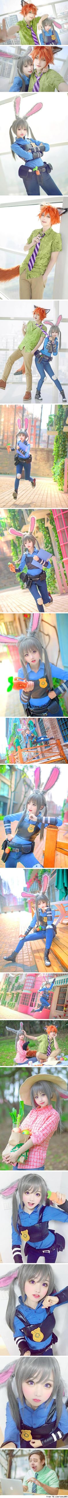 Zootopia cosplay by SeeU and friends