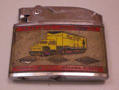 Howard Vintage Mayflower Van Lines Torrance Van and Storage Cigarette Lighter Classic