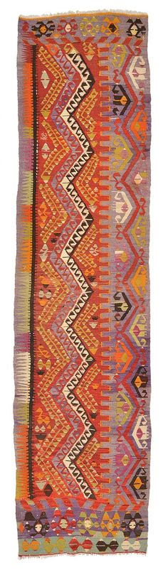 Vintage Cal Kilim Runner around 40 years old.