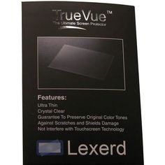 Lexerd - Humminbird 1158c TrueVue Anti-glare Fish Finder Radar Screen Protector *** Click image for more details.