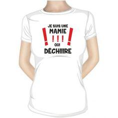 T-shirt original : je suis un PAPI qui DÉCHIRE !