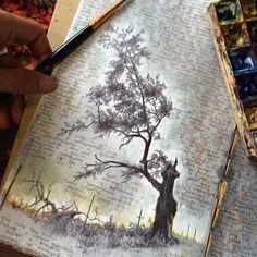 Inside the Well-Traveled Sketchbooks of Artist Dina Brodsky