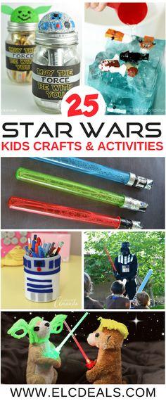 25 Star Wars Crafts & Activities for Kids