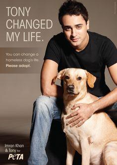 Imran and his dog