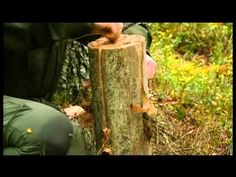 Ray Mears Demonstrations - Swedish Stove