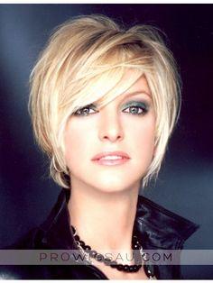 Short Wig Blending The Ears, Short Hair Wigs Sale Online | P4