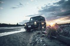 """Never Stop Exploring"": Mercedes-Benz G-Class Outdoor Experience"