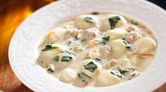 CopyKat.com's Olive Garden Chicken Gnocchi Soup - Grandparents.com