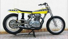 yamaha 650 flat track racers | For Sale: Ex-Kenny Roberts Yamaha XS 650 Dirt Track Racer