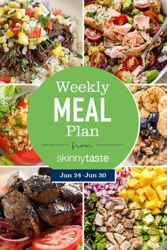 A free flexible weight loss meal plan including breakfast, lunch and dinner and a shopping list. All recipes include calories and Weight Watchers SmartPoints®. If you're new to my meal plans, I've been sharing Avocado Tomato Salad, Salmon Avocado, Healthy Snacks, Healthy Eating, Healthy Recipes, Simple Recipes, Healthy Cooking, Cooking Tips, Clean Eating