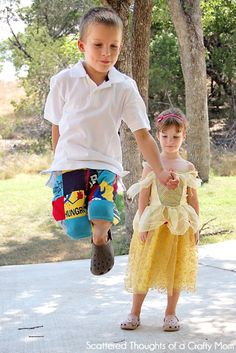 Upcycled Patchwork Shorts for boys
