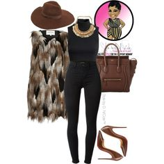A fashion look from November 2015 featuring H&M tops, J Brand jeans and Christian Louboutin pumps. Browse and shop related looks.