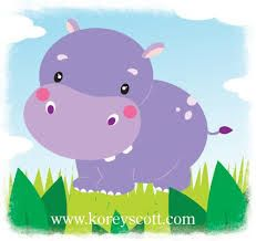 baby hippos illustration - Buscar con Google