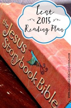 This is a simple, meaningful tradition to begin with your children for the season of Lent, leading up to Easter! Enjoy this free printable reading plan — and don't miss The Jesus Storybook Bible GIVEAWAY! Giveaway runs until Monday, February 16! (But the printable will still be available after that!)