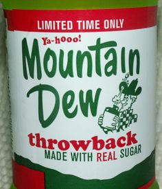 "The original formula was invented in 1940 by Tennessee beverage bottlers Barney and Ally Hartman and was first marketed in Knoxville, Tennessee and Johnson City, Tennessee with the slogan ""Ya-Hoo! Tennessee Girls, East Tennessee, Mountain Dew, Johnson City, Poland Springs, Tri Cities, How To Apologize, Fun Drinks, Beverages"