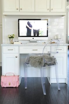 Faux fur for warmth: http://www.stylemepretty.com/living/2015/08/18/22-tricks-to-make-your-office-somewhere-you-enjoy-spending-time-in/
