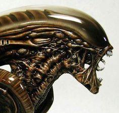 Alien Vs Predator, Predator Movie, Alien Film, Alien Art, Giger Art, Hr Giger, Concept Art Alien, Giger Alien, Aliens Movie