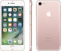 Apple iPhone 7 Plus (GSM Unlocked) iOS Smartphone - Rose Gold (Certified Refurbished) Iphone 7 Plus, Déverrouiller Iphone, Unlock Iphone, Coque Iphone, Iphone 32gb, Iphone Deals, Cell Phones In School, New Phones, Apple Iphone 6