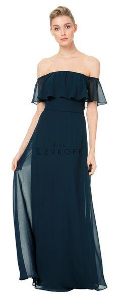 ad72211ef023b BILL LEVKOFF// Style #BL1500 Wine Bridesmaid Dresses, Wedding Dresses,  Bridesmaids,