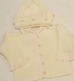 Knitted on Hand Knitting Machine Ivory Cotton « MyStoreHome.com – Stay At Home and Shop