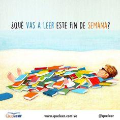 ¿Ya escogiste tu #LibroDelFinDeSemana?  #queleer #findesemana #lectura #leer #libros #weekend #read #reading #AmamosLeer