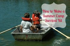 How to Make a Summer Camp Survival Kit by @groovygreenlivi