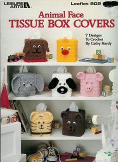 tissue box cover crochet pattern Inspirations