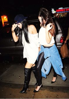 Kylie And Kendall Jenner. too bad theyre such brats, they are gorgeous