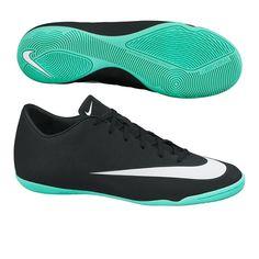 Nike Mercurial Victory V CR7 Indoor Soccer Shoes (Black Neo Turq) 3bd8b10f909a9