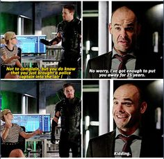 Arrow - Quentin & Felicity #4.4 #Season4 :)
