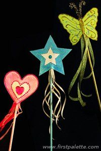 Fairy Wand Tutorial with printables.