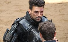 Teasing that he may not be done with filming after all, Frank Grillo talks here about reprising his Winter Soldier role in Captain America: Civil War, and also about reactions to photos of his costume