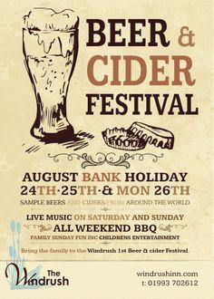 Beer & Cider Festival on Behance
