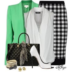 """""""Modern Office Style"""" by kginger on Polyvore"""
