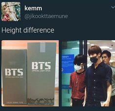 So mean !  ( it's ok Jimin, I'm short too– I'm 5'2 btw. (158 cm) ??? I think