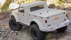 Jeep Nukizer body. Can't wait to get mine painted in a snow camo scheme!!!