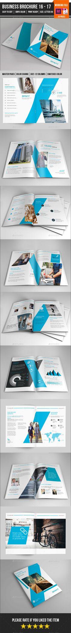 Business Brochure Template InDesign INDD