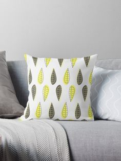 Retro leaves pattern by Catoutline