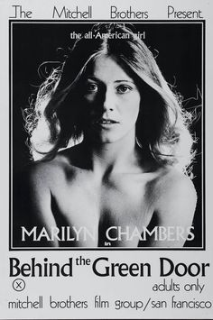 """""""Behind the Green Door"""", Poster, 1972 Peep Show, Vintage Movies, Vintage Posters, Black Christmas Movies, Behind The Green Door, Doors Movie, Brother Presents, Retro Pictures, Hollywood"""
