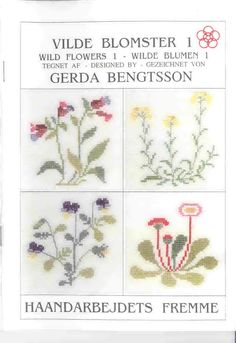 Схемы вышивки Герды Бенгтссон