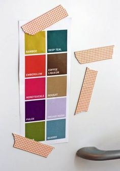 Make a chalkboard from any surface | Washi Tape Crafts | Bloglovin'