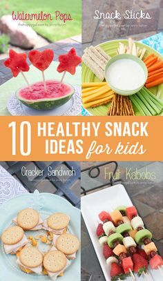 kid snacks | Food for Kids and Other Artists | Pinterest | Kid Snacks ...