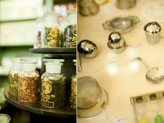 a visit to la via del te, a wonderful tea shop in Florence by leela cyd