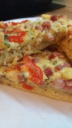 Cookbook Recipes, Cooking Recipes, Quiche, Food And Drink, Appetizers, Breakfast, Recipes, Pizza, Morning Coffee
