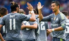 Cristiano Ronaldo scored five goals and became Real Madrid's all-time top scorer in La Liga as he inspired Los Blancos to a thumping 6-0 win at Espanyol.